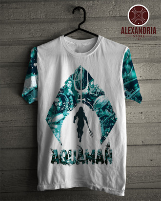 Camiseta Aquaman Geek