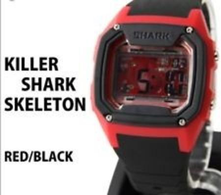 e72c920f585 Relógio Freestyle Killer Shark Skeleton Preto Vermelho