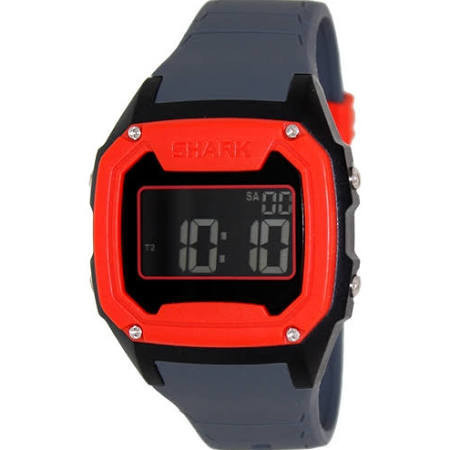 07f0a73fa5a Relógio Freestyle Killer Shark Silicon Cinza e Vermelho