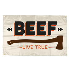 Bandeira Live True | Merch Oficial Beef