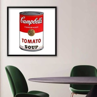 Quadros - Pop Art Campbell's Soup Warhol