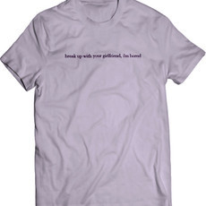 Ariana Grande Break Up With Your Girlfriend (Camiseta Unissex)