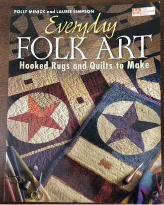 "livro ""Everyday Folk Art"" de Polly Minick e Laurie Simpson"