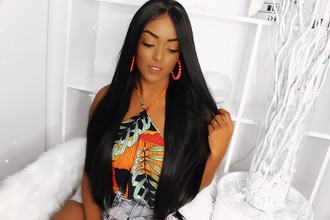 Lace Front wig swiss premium - Yaki 30