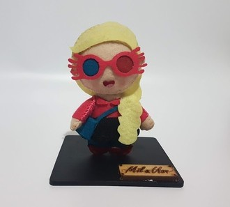 Chaveiro / Toy Art - Luna Lovegood