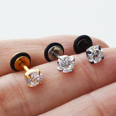 Piercings Visagismo Cristal 5mm