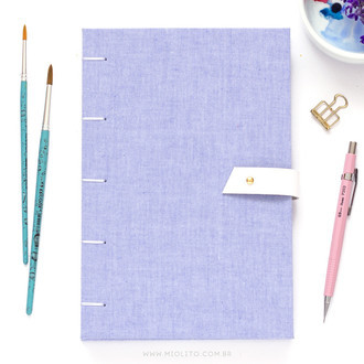 Sketchbook para Aquarela XL - Cotton Candy (Extra Large)