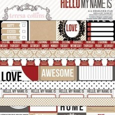 COLEÇÃO  HELLO MY NAME IS  BY TERESA COLLINS - KIT 2