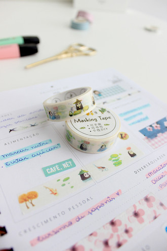 Washi Tape Sem Face