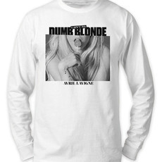 Camiseta Manga Longa Avril Lavigne - Dumb Blonde