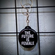 Chaveiro The Future Is Female