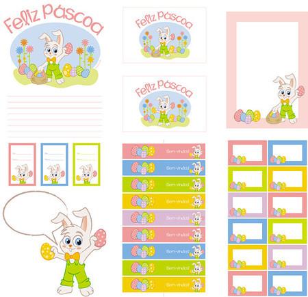Kit Digital Páscoafesta Coelhinho Coisas Da Bonfa