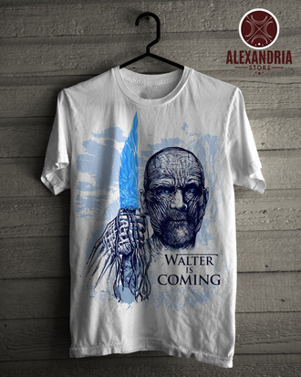 Camiseta Walter Is Coming