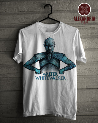 Camiseta Walter White Walker