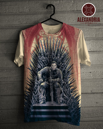 Camiseta Jon Snow King of the North