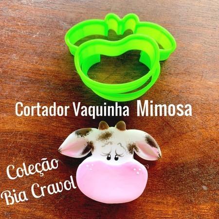 Cortador Vaquinha Mimosa Colecao Bia Cravol