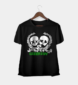 Camiseta Rock Feminina Green Day
