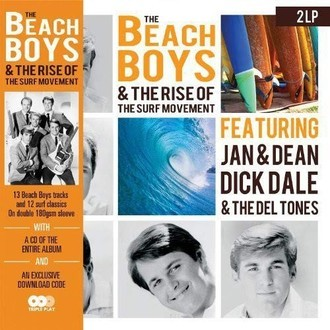 Beach Boys & the rise of the surf movement LP duplo + CD (novo/180g)