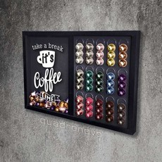 Quadro Dispenser Nespresso - TAKE A BREAK - 65 x 46 cm
