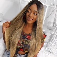 Lace Front wig swiss premium lace wig - Luiza