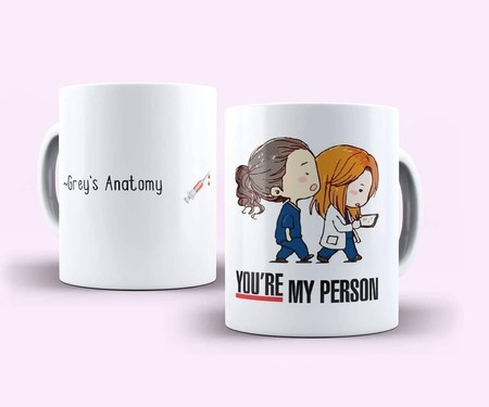 Caneca You are My Person Grey's Anatomy