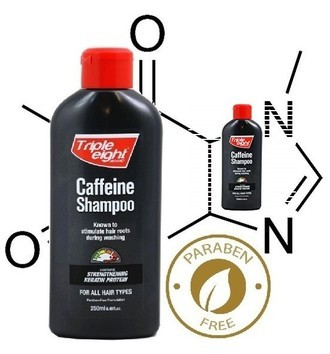 Triple Eight Shampoo Cafeína e Queratina Kit com 2 Unidades Antiqueda