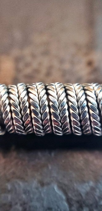 Zipper Coil (6*26/26 Full NI90 - 0.1 ohm-single) - Shark Coil