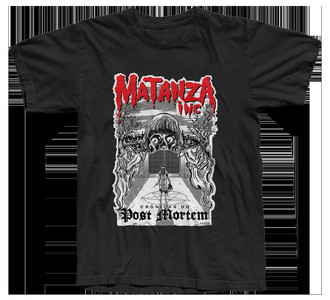 "Camiseta ""Crônicas do Post Mortem - modelo 2"""