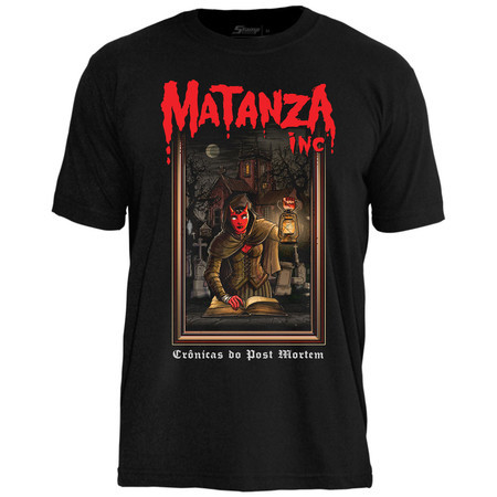 "Camiseta ""Crônicas do Post Mortem - modelo 1"""