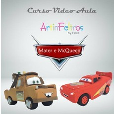 Video Aula McQueen e Matter - Inspirado no Filme Carros