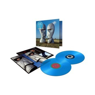Pink Floyd - The Division Bell 25th anniversary LP duplo (vinil azul)