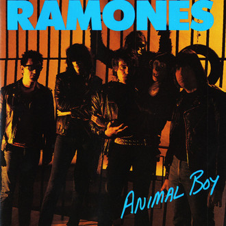 Ramones - Animal boy LP (prensagem original/imp. USA)