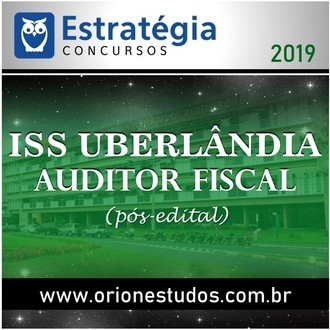 ISS-Uberlândia (Auditor Fiscal)