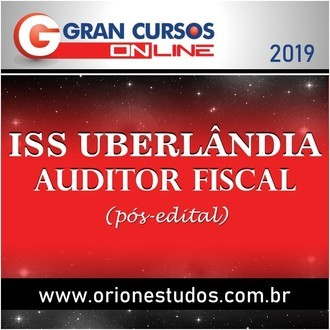 ISS Uberlândia (Auditor Fiscal)