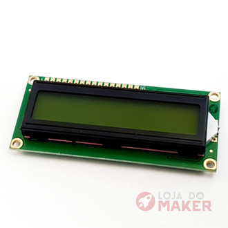 Display LCD 16×2 Backlight Verde