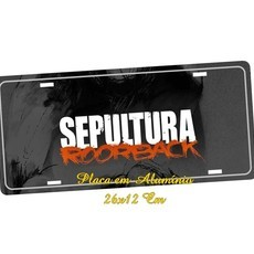 Placa de Carro Decorativa Sepultura