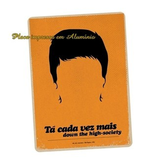 Placa Poster Quadro Decorativa Elis