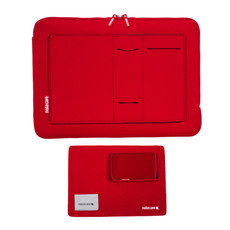 "Case com bolso Notebook 17"" + Kit"