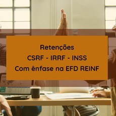 11/01/2020 - Curso CSRF- IRRF - INSS - com ênfase na EFD REINF