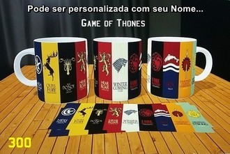 Caneca Personalizada Game Of Thones