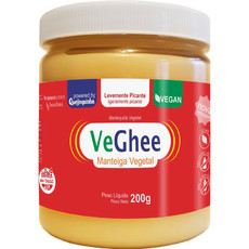 Manteiga Vegana Veghee levemente Picante (200g) - Natural Science