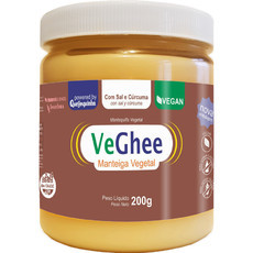 Manteiga Vegana Veghee Cúrcuma (200g) - Natural Science