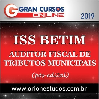 ISS Betim/MG - Auditor Fiscal de Tributos Municipais