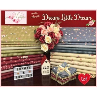 "kit tecido Millyta ""Dream Little Dream"""