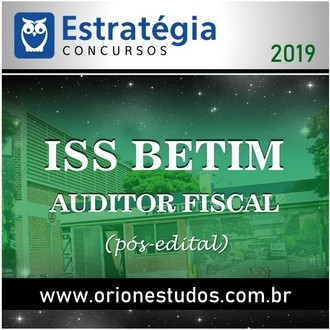 ISS-Betim (Auditor Fiscal)