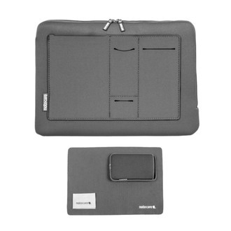 "Case com bolso Notebook 17"" Gamer + Kit"
