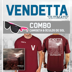 "CAMISETA+ÓCULOS - VENDETTA ""ULTIMATO"""