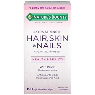 NATURES BOUNTY® Extra Strenght Hair, Skin & Nails - 150 cápsulas