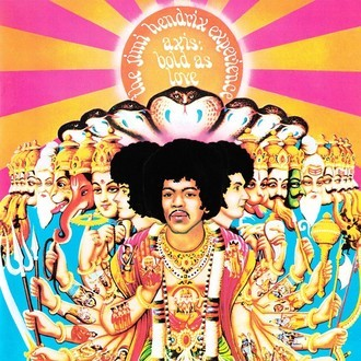 The Jimi Hendrix Experience - Axis bold as love LP (novo/lacrado)