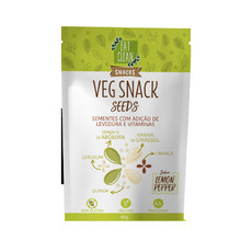 Veg Snack SEEDS sabor Lemon Pepper (40g) - Eat Clean